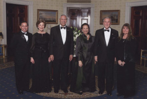 Henry_Paulette_with_George_and_Laura_Bush_2